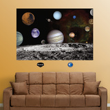 NASA Solar System - Duvar Çıkartması
