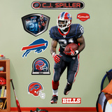 C.J. Spiller   Wall Decal