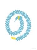 Aqua Snake Affiches par  Avalisa