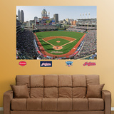 Cleveland Indians Progressive Field Stadium Mural   Wall Decal