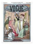 Vogue Cover - October 1908 Regular Giclee Print