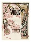 Vogue Cover - February 1905 Regular Giclee Print