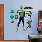 Green Lantern Wall Decal