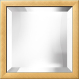 Gold Bevel Mirror Wall Mirror