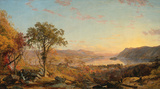 Indian Summer Wall Decal by Jasper Francis Cropsey