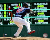 Francisco Liriano 2012 Action Photo