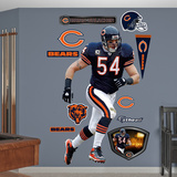 Brian Urlacher 2011 Edition Wall Decal