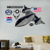 SR-71 Blackbird Wall Decal