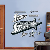 San Antonio Silver Stars Logo   Wall Decal