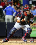 Yadier Molina 2012 Action Photo