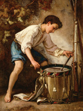 Drummer Boy Wall Decal by Thomas Couture