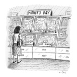 Mother's day cards  - New Yorker Cartoon Premium Giclee Print by Roz Chast