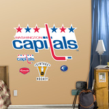 Washington Capitals Classic Logo Wall Decal