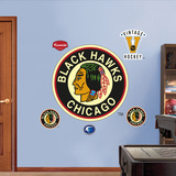 Chicago Blackhawks Classic Logo Wall Decal