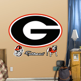 Georgia Bulldogs G Logo Wall Decal