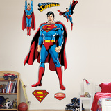 Superman Justice League Mode (wallstickers)