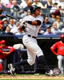 Curtis Granderson 2012 Action Photo