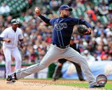 James Shields 2012 Action Photo
