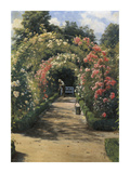 In the Garden Premium Giclee Print by Peder Mork Monsted
