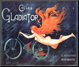 Cycles Gladiator Impresso montada por Georges Massias
