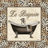 Leopard Bathtub Plakater af Todd Williams