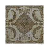 Vintage Tile II Limited Edition by Paula Scaletta