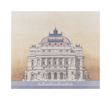 Budapest Premium Giclee Print by Andras Kaldor