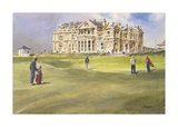 Hesitation at St. Andrews Premium Giclee Print by Robert Wade