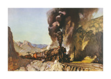The Gradient Premium Giclee Print by Terence Cuneo