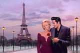 Paris Sunset Posters af Chris Consani