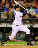 Jesus Montero 2012 Action Photo