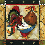 Tuscan Rooster I Prints by Jennifer Garant