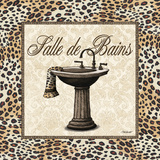 Leopard Sink Prints by Todd Williams