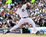 Justin Verlander 2012 Action Photo