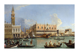 View of Venice II Premium Giclee Print by William James