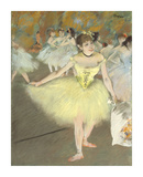 Sur la Scene Premium Giclee Print by Edgar Degas