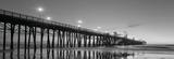 Pier Night Panorama II Prints by Lee Peterson