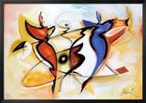 Dancing Angels Posters by Alfred Gockel