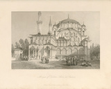 Mosque of Sultan Selim at Scutari Premium Giclee Print by Sir Thomas Allom