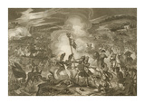 Battle of Waterloo Premium Giclee Print by Samuel Freeman