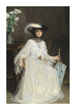 Lady Evelyn Farquhar Premium Giclee Print by Sir John Lavery