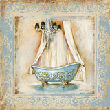Elegant Bath I Prints by Gregory Gorham