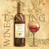 Wine Tasting Art by Gregory Gorham