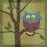 Paul Brent - Fantasy Owls III Plakát