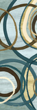 Tuesday Blue Panel I Kunstdrucke von Jeni Lee