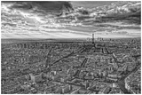Overlooking Paris Art by Randy Harris