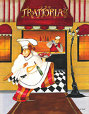 Trattoria Print by Jennifer Garant