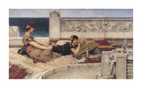 The Fountain Premium Giclee Print by Sir Lawrence Alma-Tadema