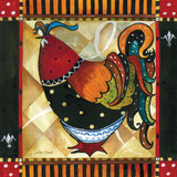 Tuscan Rooster II Plakaty autor Jennifer Garant