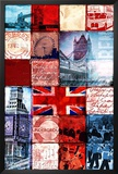 London Patchwork Posters